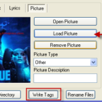 Free mp3 tag editor – batch embed album art and lyrics – Tiny tool